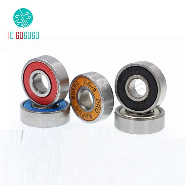 10pcs/lot MR105 MR115 605 608 623 624 625 626 685 688 698 ZZ Bearing Roller Skates Twisted Car Hand Spinner Bearings