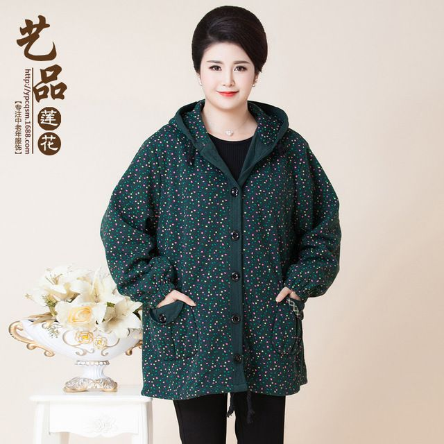 Plus size winter jacket old women coat parka womens winter jackets manteau femme doudoune femme manteau femme 5XL XXXXXXL 6XL