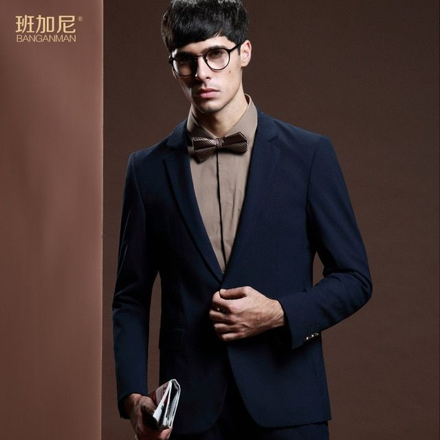 50% Wool Spring Slim Fit Luxury Business Casual Suit Men Blazers Professional Formal Wedding Dress Beautiful Design Thin Style