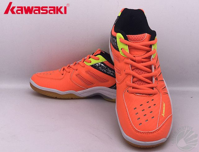 2017 Original Kawasaki Badminton Shoes Men And Women Zapatillas Deportivas Anti-Slippery Breathable K-061 062 063 For Lover