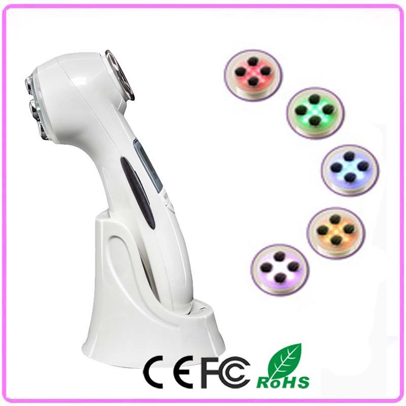 2016 Newest Portable Photon EMS RF Radio Frequency Facial Beauty Machine For Home Use Skin Rejuvenation Lifting Tightening