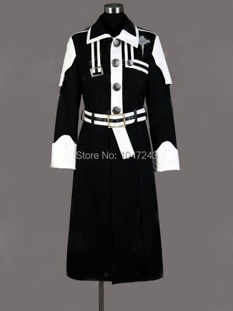 Free Shipping Cosplay Costume D Gray Man kanda I New in Stock Retail / Wholesale Halloween Christmas Party Uniform