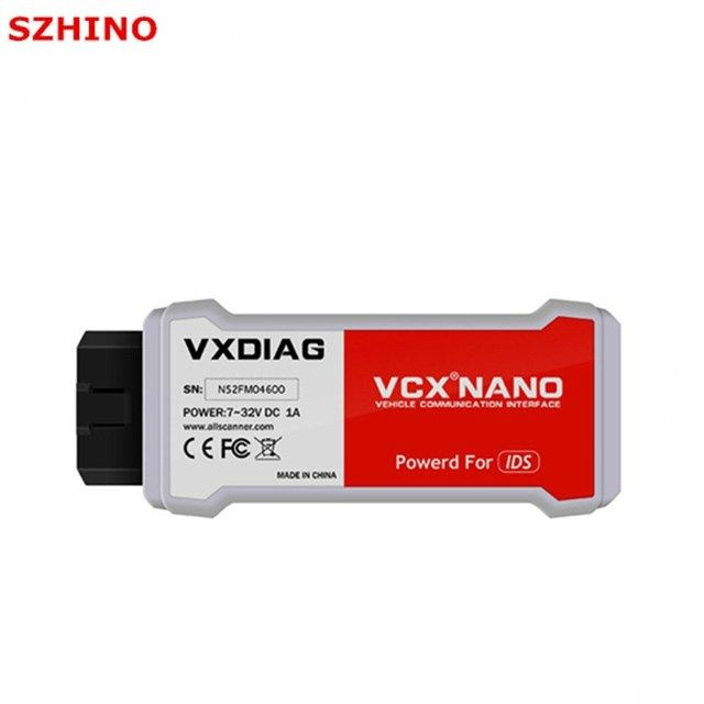Newest VXDIAG VCX NANO for Fo-rd/M-azda 2 in 1 V101 V104 Auto Scanner