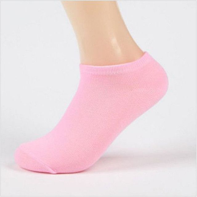 1 Pair Women Socks Casual  Boat Low Cut Summer Style Candy Color  Short Ankle Socks Crew Hot New 12colors
