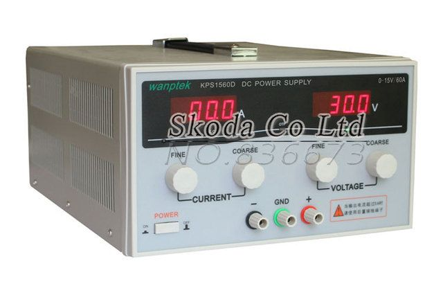 KPS1560D 15V 60A digital adjustable DC Power Supply High power Switch DC power supply 110/220V 0.1V 0.1A