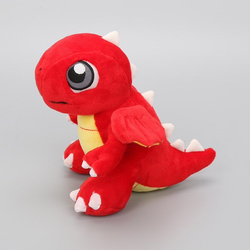 16.5cm anime Game toys Dragonvale plush toys Red Dragon Fire Dragon plush stuffed doll dragon ball z Charizard