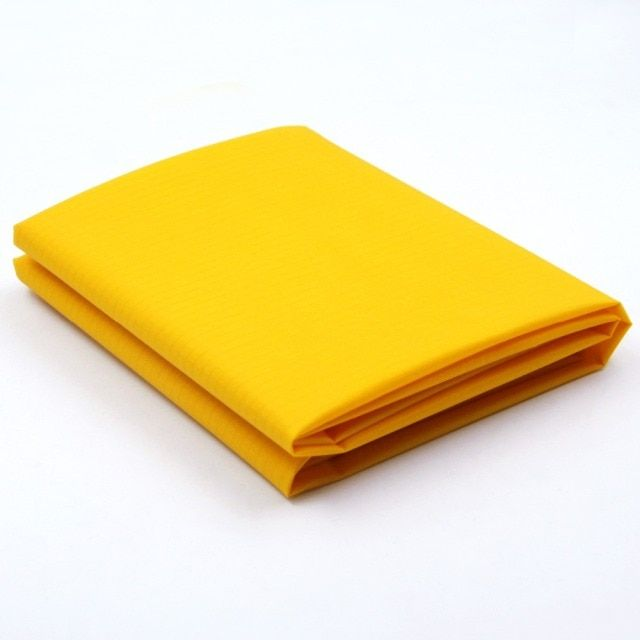 10 Yards Ripstop Nylon Fabric Waterproof PU Coated Kite Fabric 40D Dark Yellow Ultralight Strong Nylon Fabric