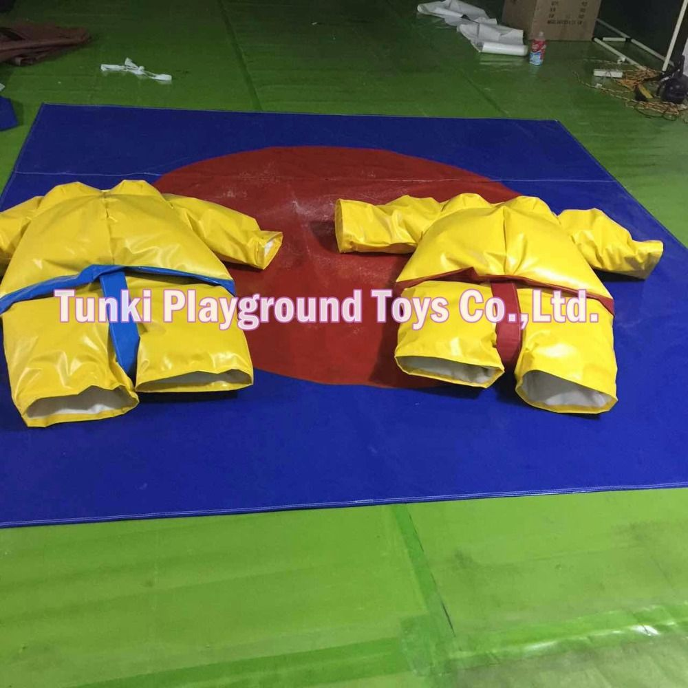 inflatable sports games foam padded sumo suit for hot sale junior