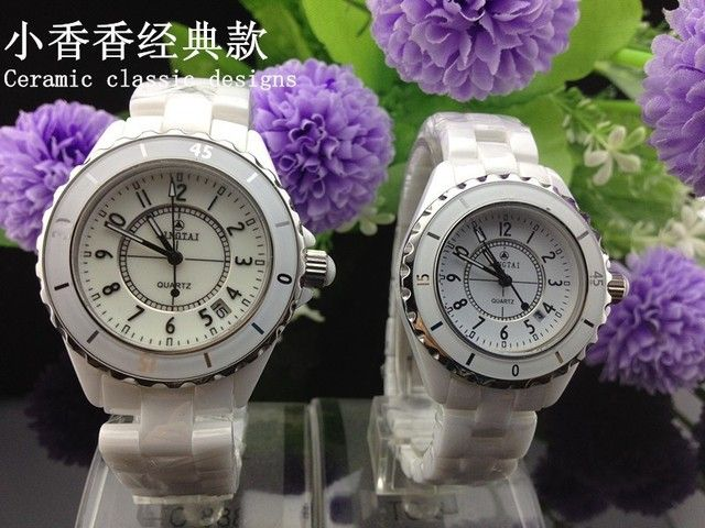 Pottery classic couple watch men and women, the real high-end brand watches, waterproof watches, fashion calendar casual watch