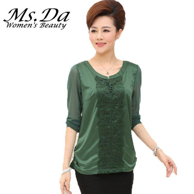 T-shirt Women 2016 Long Sleeve Blusas Vintage Casual Lace Shirts Mujer Camisetas y Tops Green,Red Plus Size Tshirts 4XL,3XXXL