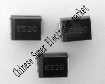 50PCS ES2G SMB 2A 400V DO-214AA / AOD4185 TO252 / HCPL-2631 DIP / 78M05 TO252 /