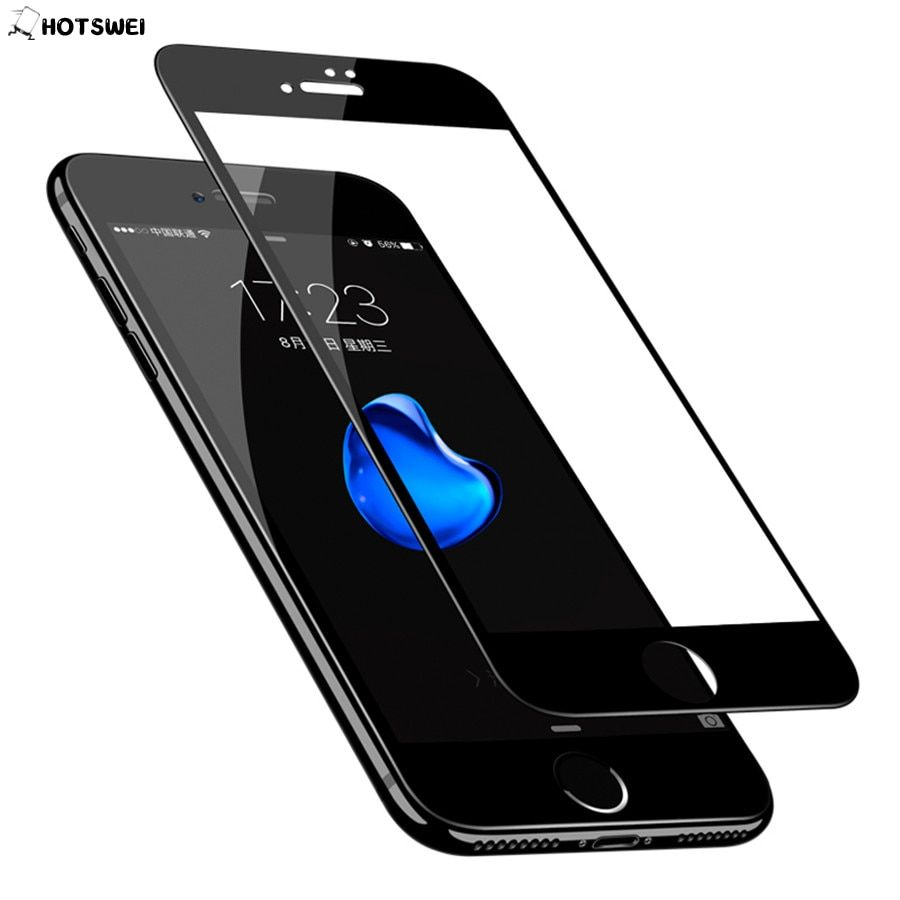 Full Cover Tempered Glass for iPhone 6 6S 7 8 plus 5S Tempered Glass for iPhone 7 6 6S 8 plus Glass 9H 0.3mm Screen Protector