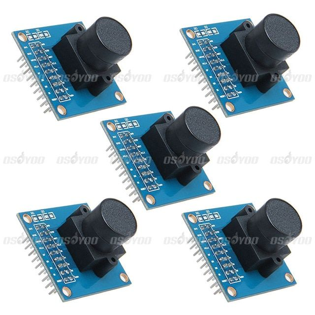 CMOS OV7670 Camera Module Display Active Array Size 640X480 for Arduino 5pcs/lot
