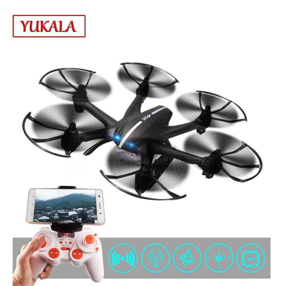 Free shipping X800 RC helicopter drone quadcopter with C4015 Wifi FPV HD HD Camera Black White toys for kids