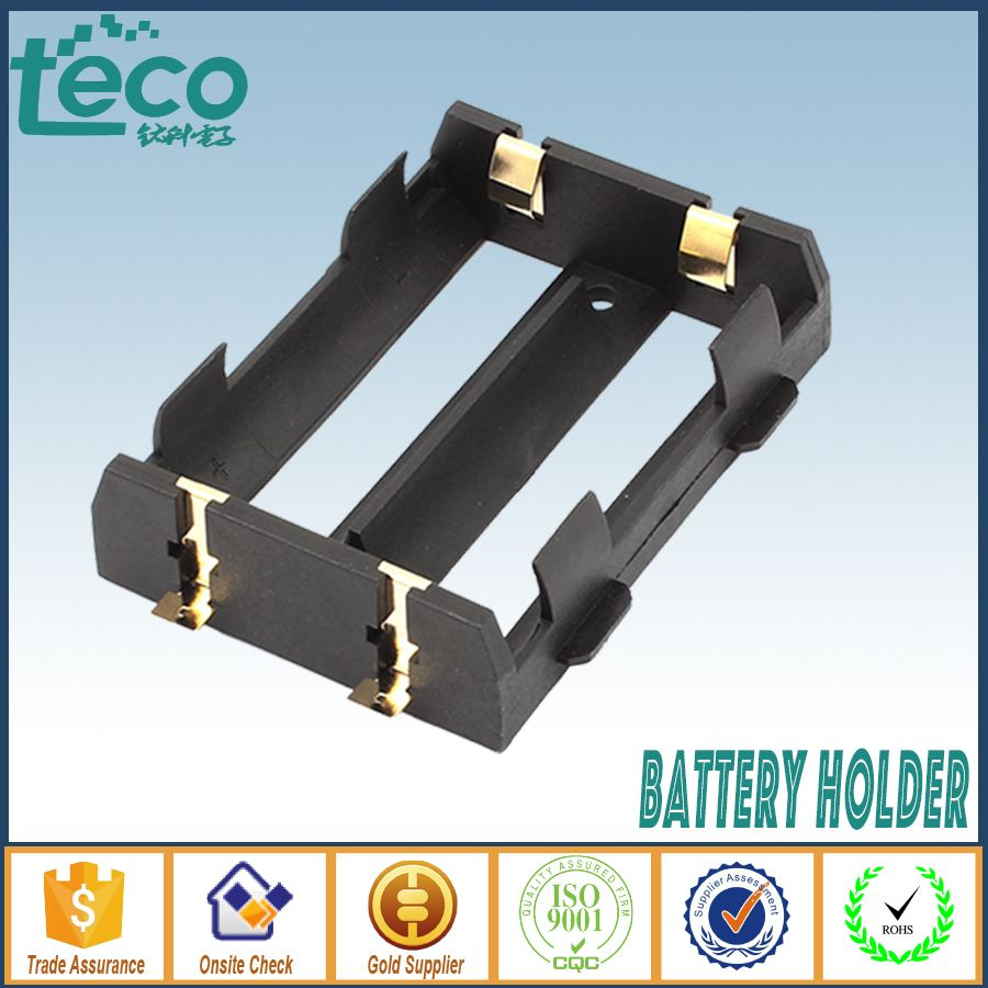 1Pcs/lot 26650 Battery Holder SMT SMD High Quality With Bronze Pins TBH-26650-2A-SMT