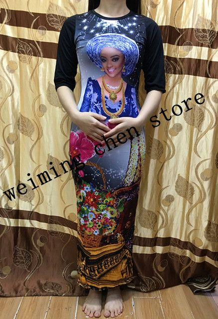 2017 new fashion 100% cotton print elastic stretch style dashiki famous brand stripe suits for women/lady for slim ladies