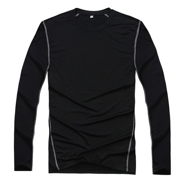 New Men Compression Base Layer Tight Shirt Long Sleeve Gear Collection