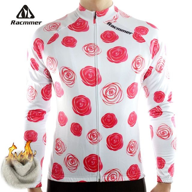 Racmmer 2017 Cycling Jersey Winter Long Bike Bicycle Thermal Fleece Ropa Roupa De Ciclismo Invierno Hombre Mtb Clothing #ZR-13
