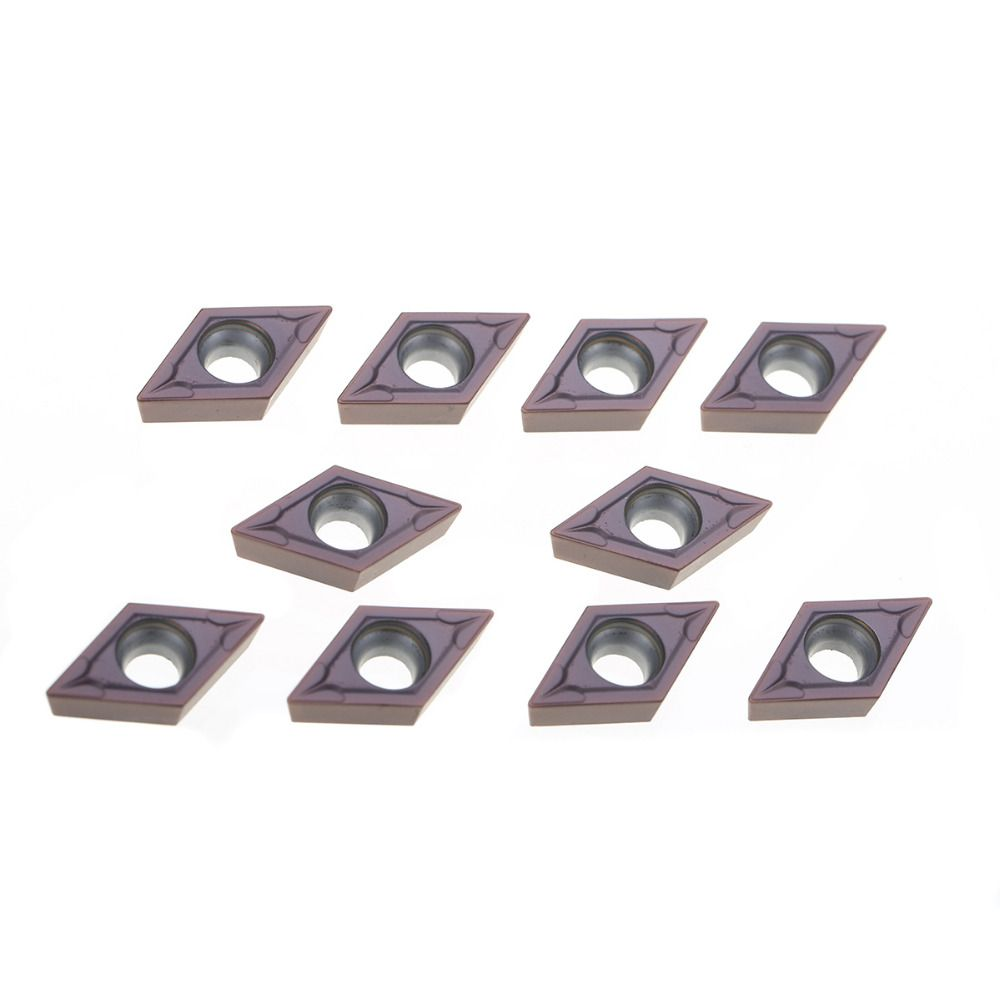 10pcs Carbide Inserts DCMT11T304 VP15TF CNC Carbide Inserts with Box For Lathe Turning Tool