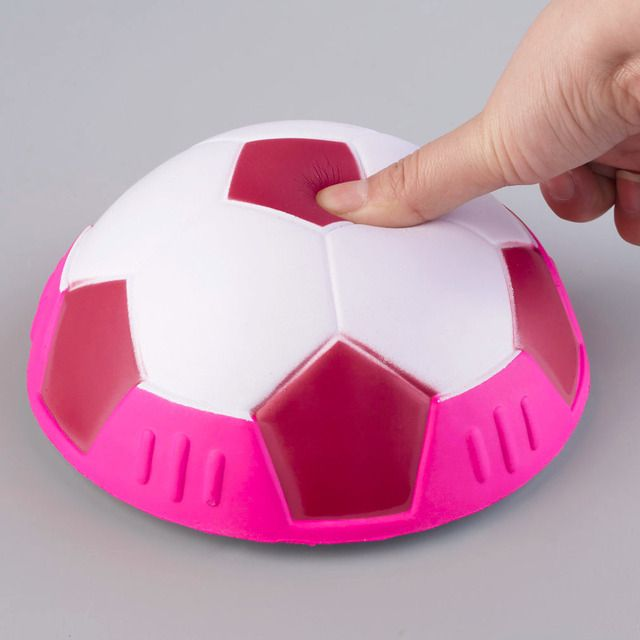 YHX YHX New Arrival 1Piece Air Power Soccer Ball Disc Indoor Football Toy Multi-surface Hovering and Gliding Toy