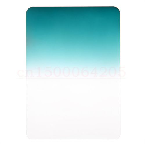 Camera Filters Grad Green 0.9 Z Series 100x150mm Soft Square Filter Graduated Neutral Density for Lee and Cokin Z-Pro Holder