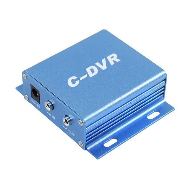 coovision 1 ch mini sd card cctv dvr recorder support audio record loop recording