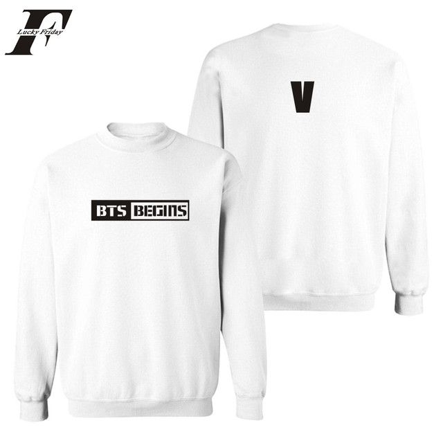 LUCKYFRIDAYF Korean Bangtan Capless Winter Long Hoodie Women Sweatshirt Women Korean Popular BTS JIN SUGA JIMIN Fashion Clothes
