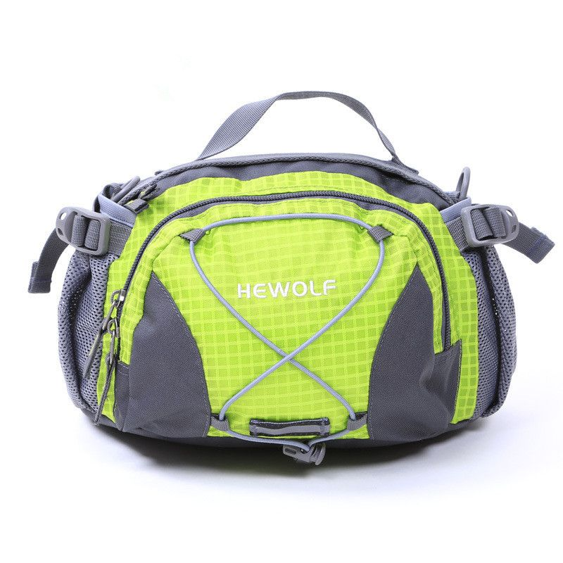 Hewolf Outdoor Multi-purpose Waist Bag 3L Women/Men Sport Messenger Bag Gym Waist Pack for Running Hiking Bicycling