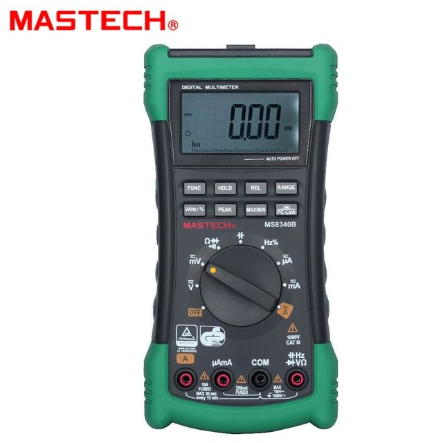 MASTECH MS8340B (MS8240D discontinued) precision smart handheld digital multimeter