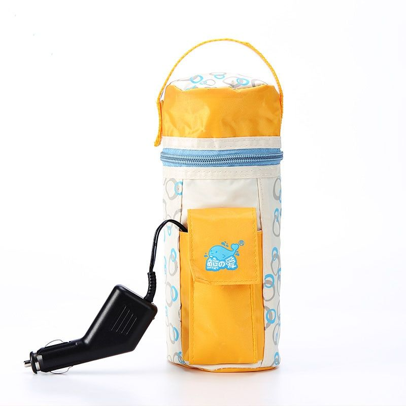Food Warmer 12V Car Heater Bottle Milk Bottle Wamer Bags Thermal Insulation Baby's Feeding Bottle Heater Travel Bottle Warmer