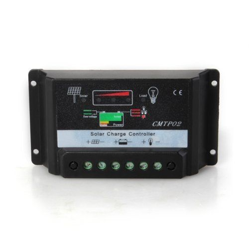 IMC Hot Controller Charge Controller for Solar Panel Battery 10A 12V / 24V