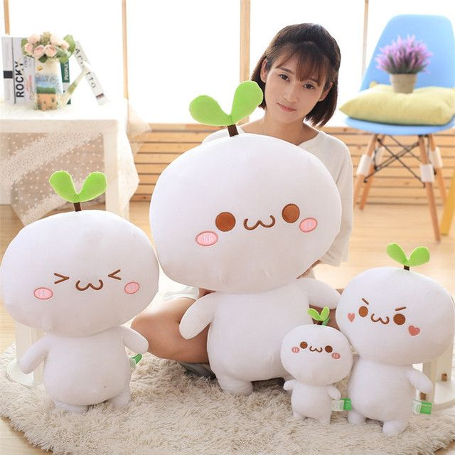1pcs Creative Expression Pillow Yan text Plush Doll Toy 25cm
