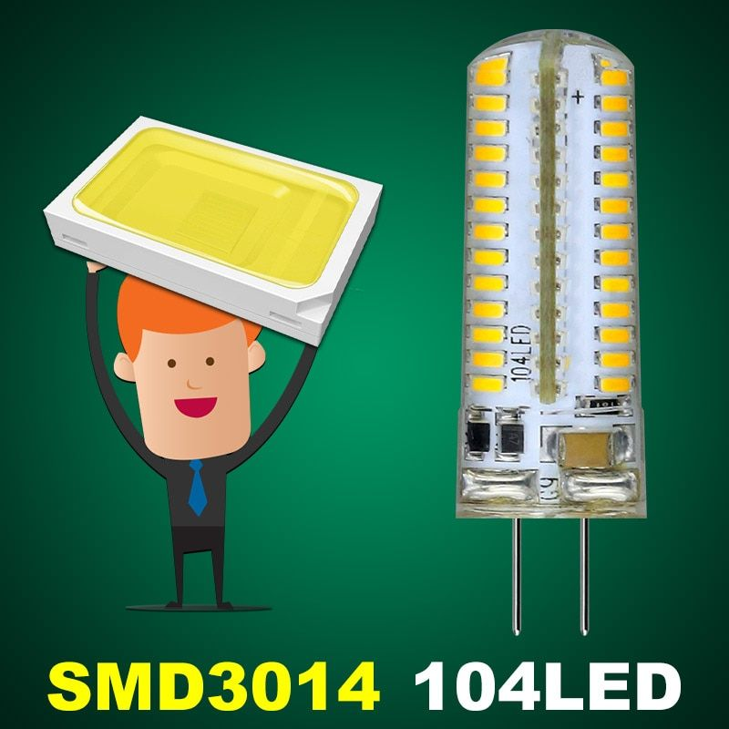 1pcs LED G4 LED Bulb DC12V AC12V AC220V LED G4 Corn Bulb Lamp SMD 3014 3W 5W 6W 7W 10W Replace Halogen G4 Lamp luz lampada led