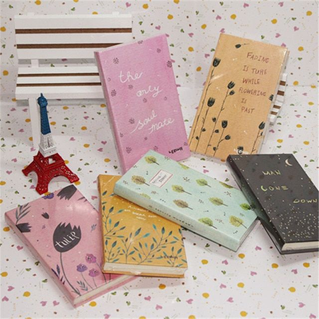 HOT Weekly Planner School Notebook notepad paper 96 sheets cute planners diary note book Office School Supplies Gift