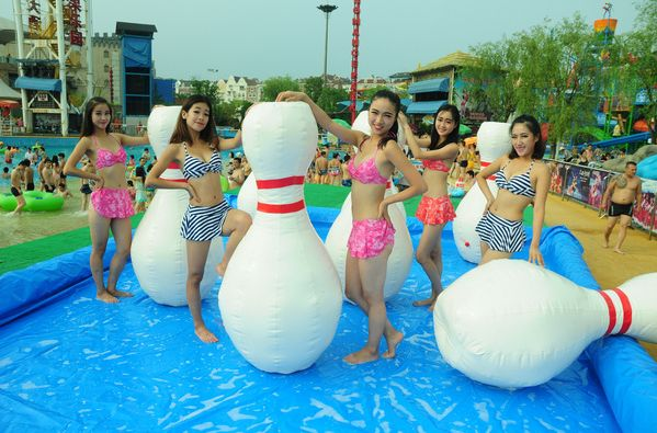 inflatable Bowling pins customized inflatable Bowling Pins for event/ inflatable advertising Bowling Pins balloon