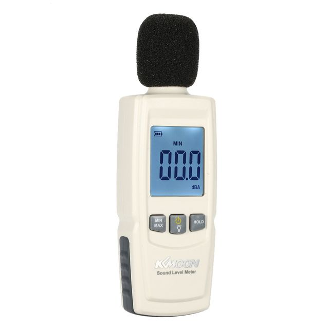 New Upgrade LCD Noise Measuring Instrument Digital Sound Level Meter Portable Noise Tester Decibel Monitoring Diagnostic-tool