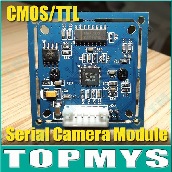 CCTV Camera JPEG Color VC0706 Camera  Infrared RS-232 Serial Port Camera Module TM-S403 Full Source Program Free Shipping