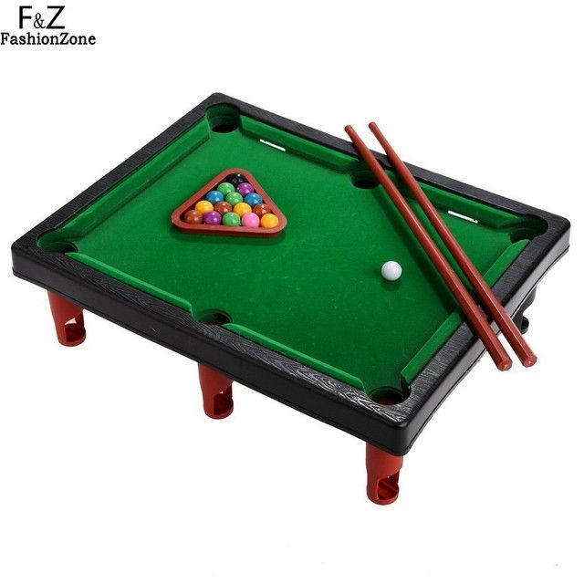 Arshiner Billiard Mini Pool Table with Cues Tripod Balls for Boy Kids Best Sports Game Toy for Children as Christmas Gift