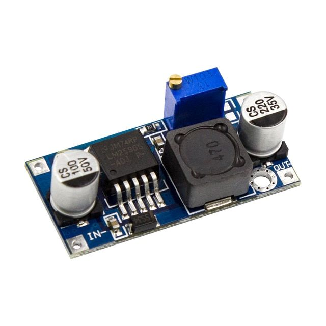 LM2596 DC to DC Buck Converter 3.0-40V to 1.5-35V Power Supply Step Down Module