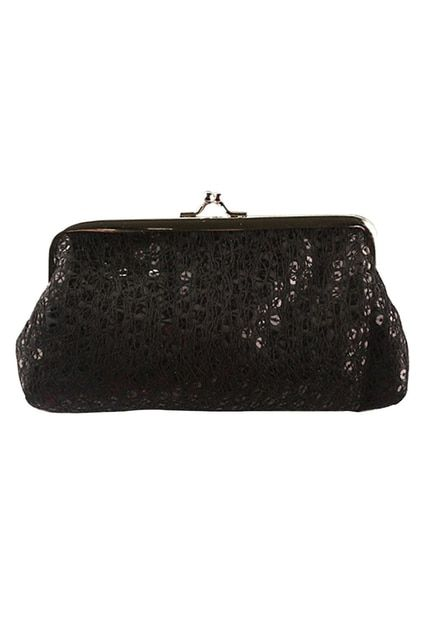 Women Sequins Clutch Evening Party Phone Bag Wallet Purse