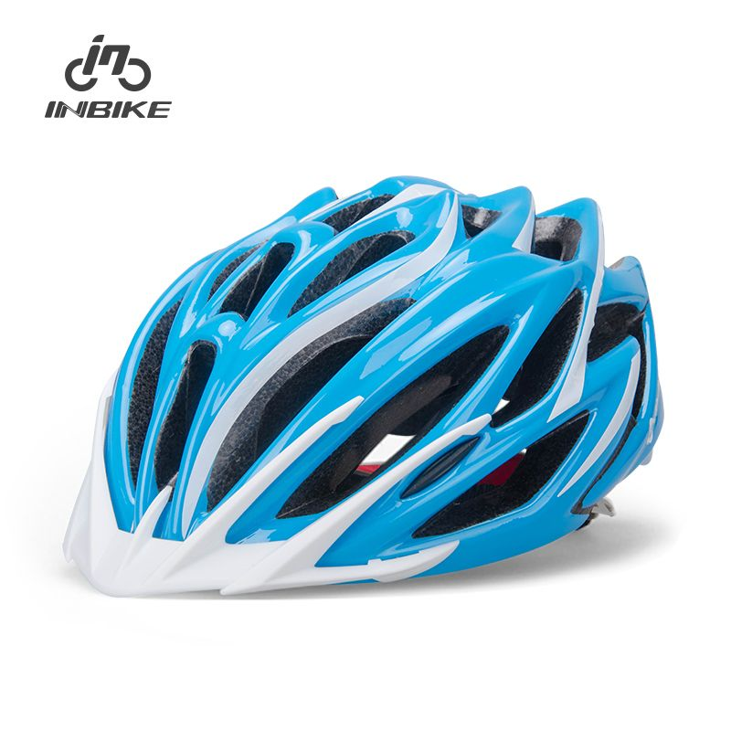 INBIKE Integrally-Molded 54-64 cm Cycling Helmet Bicycle Road Mountain Helmet Capacete Bike Accessories 4 Color IH669