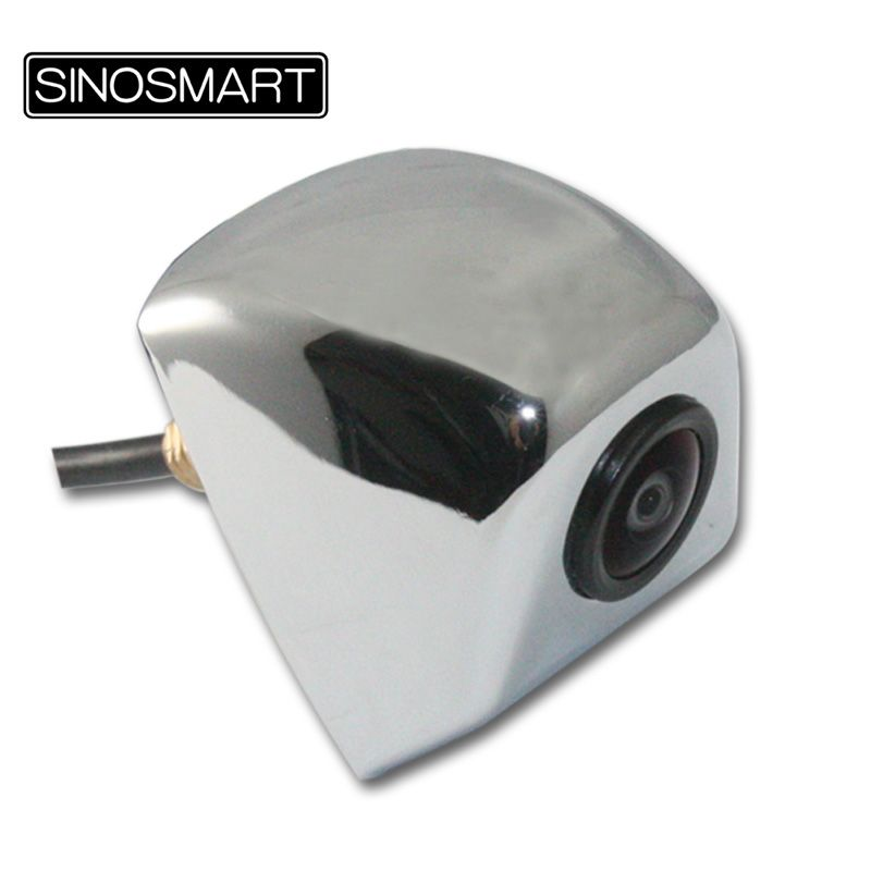 SINOSMART In Stock High Quality HD Super Wide View Angle Universal Parking Backup Camera with 6mm-Diameter Threaded Rod Chrome