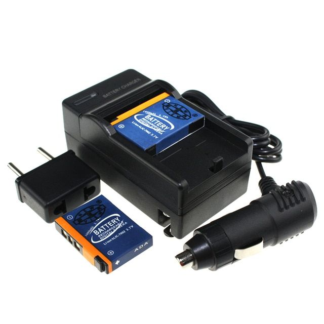 2PCS High Quality Battery And Charger KLIC-7002 KLIC7002 for Kodak Easyshare V530 V603