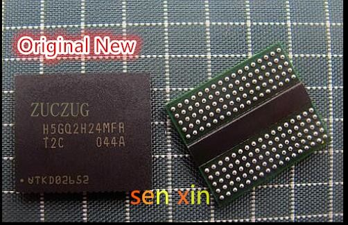 Free shipping 5PCS 100% NEW H5GQ2H24MFR-T2C  H5GQ2H24MFR  T2C Video ram BGA Chipset