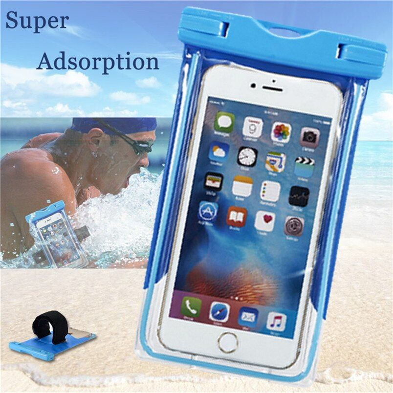 Waterproof Case For Xiaomi Redmi 5 a prime note 5 4x 3s 3 4 pro 4a mi 5 mi 5s plus Under Water Case Cover Mobile Phone Pouch Bag