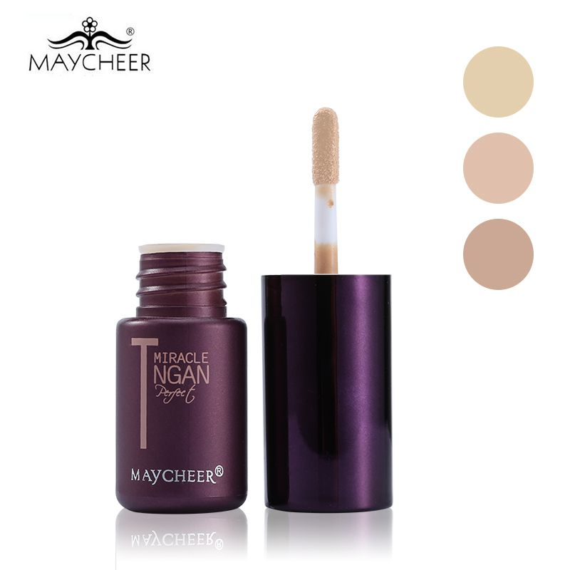MAYCHEER Brand Makeup T-Zone Oil Control Liquid Concealer Stick Moisture Hide Blemish Dark Circle Face Eye Concealer Cream