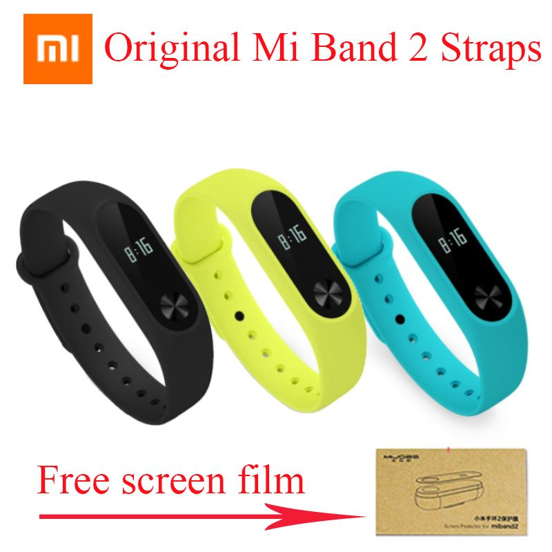 Original Xiaomi mi band 2 Strap Belt Silicone Colorful Wristband for Mi Band 2 Smart Bracelet for Xiaomi Band 2 Accessories
