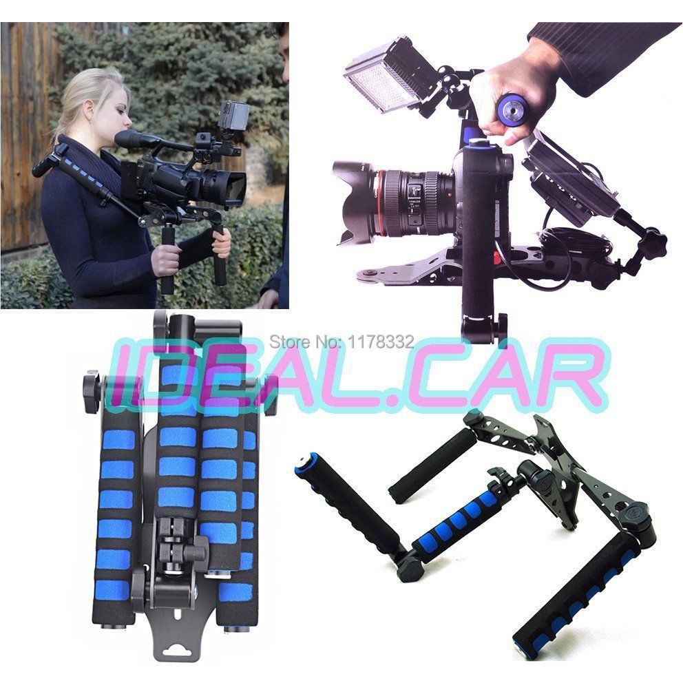 DSLR Rig Shoulder Mount Movie Kit Support +Hex Driver  for Camera C&anon 5D II III 7D 600D D90