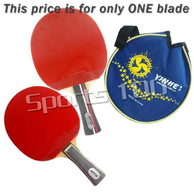 Galaxy 01B Pips-in Table Tennis Racket with racket case