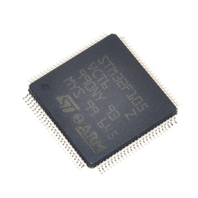 Free shipping STM32F105VCT6 Connectivity line, ARM-based 32-bit MCU STM32F105VCT6 10PCS